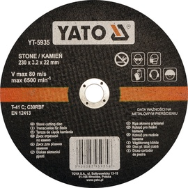 Yato YT-5935 Stone Cutting Disc 230mm