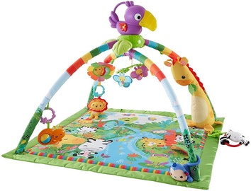 Fisher Price Rainforest Music & Lights Deluxe Gym DFP08