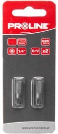 Proline PZ2x25mm Bits 1/4'' 2pcs