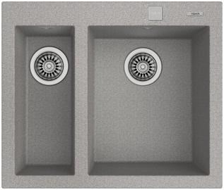 Teka Forsquare Sink Inset 2B 590 TG Gray