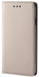 GreenGo Smart Magnet Book Case For Xiaomi Redmi Note 3 Gold