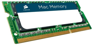 Corsair Mac Memory 8GB DDR3 CL11 SO-DIMM CMSA8GX3M1A1600C11