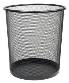 D.Rect Forpus Paper Basket 12l Black