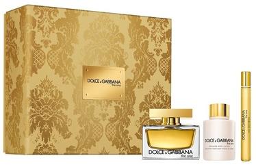 Набор для женщин Dolce Gabbana The One 75 ml EDP + 100 ml Body Lotion + 10 ml EDP