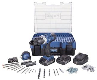 Scheppach Cordless Drill DTB20ProS Kit