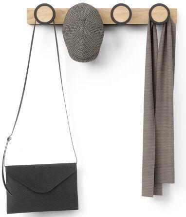 Вешалка для одежды Umbra Hub Rail 1016843-045, коричневый/черный