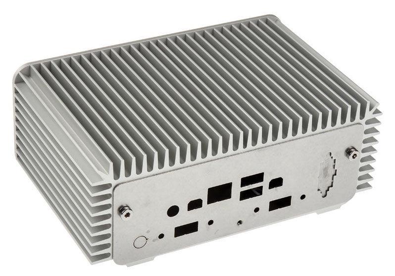 Impactics Intel NUC Case D4NU1-S Silver