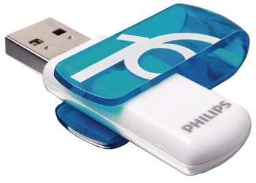 PHILIPS USB 2.0 Vivid Edition Blue 16GB