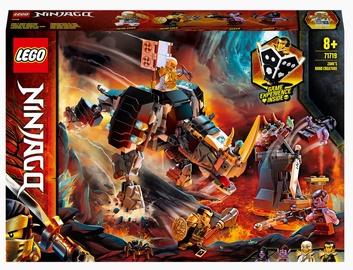 Конструктор LEGO Ninjago Бронированный носорог Зейна 71719, 616 шт.