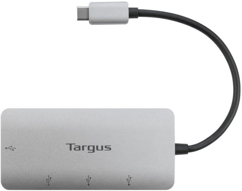 USB-разветвитель (USB-hub) Targus USB-C to USB-A 4-Port Hub