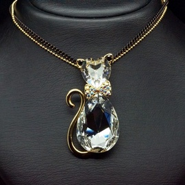 Diamond Sky Pendant Solar Cat II With Swarovski Crystals