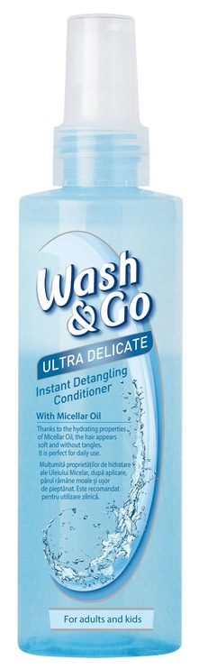 Plaukų kondicionierius Wash&Go Micellar Conditioner, 200 ml