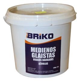 Ąžuolo spalvos medienos glaistas Briko, 1,6 kg