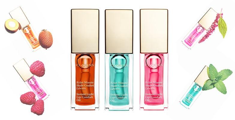 Бальзам для губ Clarins Instant Light Lip Comfort Oil Raspberry, 7 мл