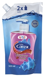 Carex Kids Strawberry Candy Antibacterial Hand Wash Refill 500ml