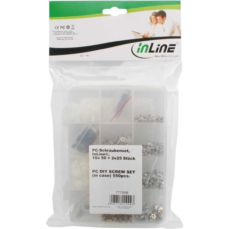 InLine PC/Server Screw Set 550pcs