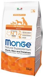 Сухой корм для собак Monge Speciality Line Adult with Duck Rice and Potatoes 12kg