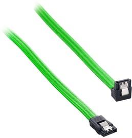 Juhe Cablemod ModMesh Right Angle SATA 3 Cable, roheline, 0.3 m