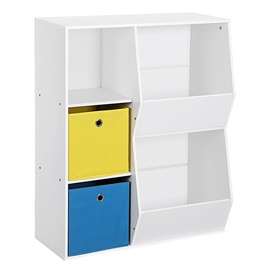 Полка Songmics Kids, синий/белый/желтый, 730x350x960 мм