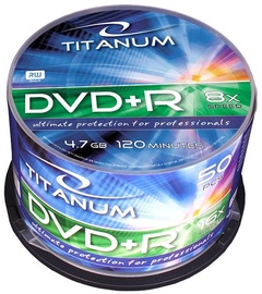 Esperanza 1076 Titanum DVD+R Titanum 8x 4.7GB Cake Box 50 DVD's