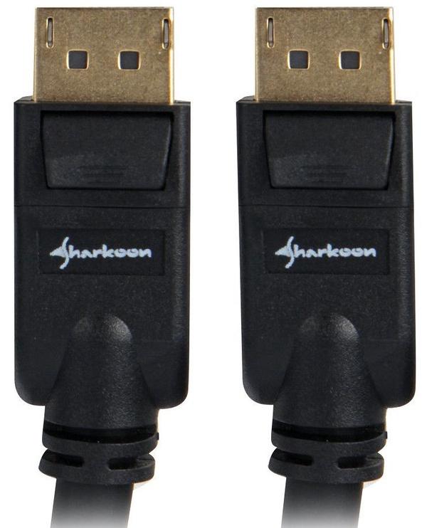 Sharkoon Cable Displayport / Displayport 1.3 4K Black 5m
