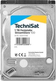 "TechniSat Streamstore 1TB 2.5"" SATA Silver"