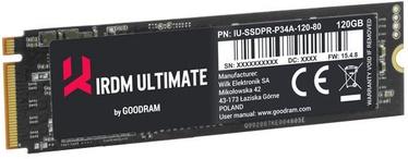 GoodRAM IRDM Ultimate SSD M.2 + HHHL Adapter 480GB PCIE IRU-SSDPR-P34A-480-80A