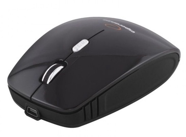 Kompiuterio pelė Esperanza Charger EM121 Black, bevielė, optinė