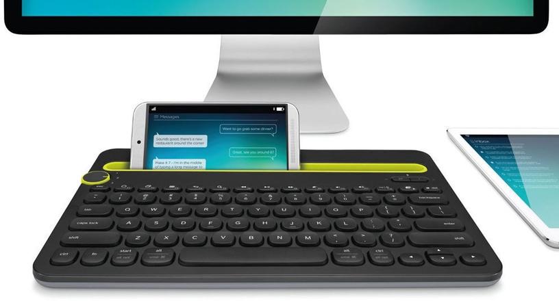 Logitech K480 Bluetooth Multi-Device Keyboard Black UK