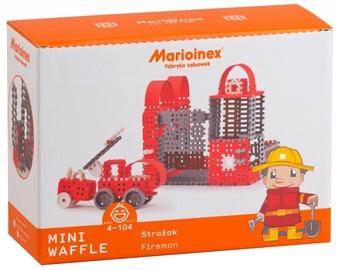 Marioinex Mini Waffle Fireman Large Set 163pcs 902530