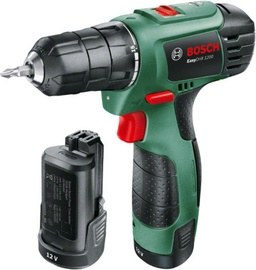 Bosch EasyDrill 1200 Drill with 2 Batteries