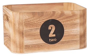 Home4you Nomo-2 Wood Box Brown