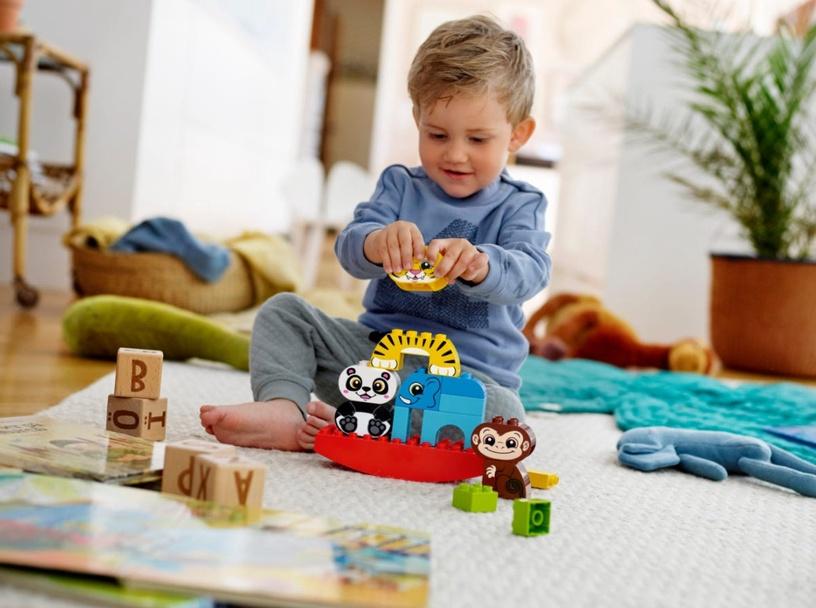 Конструктор LEGO Duplo My First Balancing Animals 10884 10884, 15 шт.