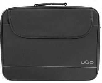 Сумка для ноутбука UGO, черный, 15.6″