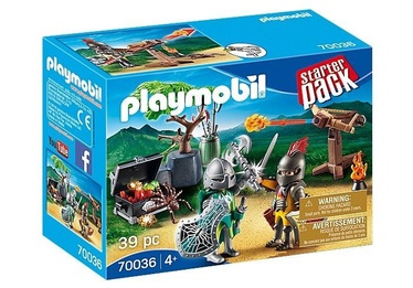 Playmobil StarterPack Knight's Treasure Battle 70036