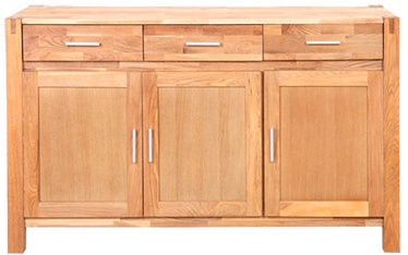 Home4you Chest Of Drawers Chicago New 140x44x86cm Oak