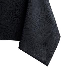 Скатерть AmeliaHome Gaia HMD Black, 140x300 см