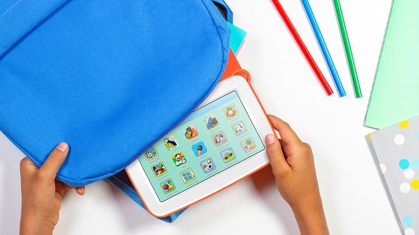 Vaikiška planšetė Sponge Smart 2 Blue