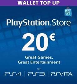 Sony PSN 20 EUR Finland PSN IDs Only