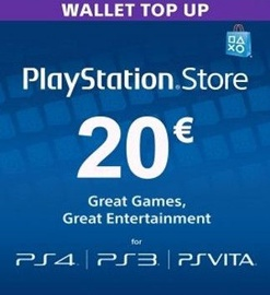 Sony PSN 20 EUR Finland PSN IDs Only
