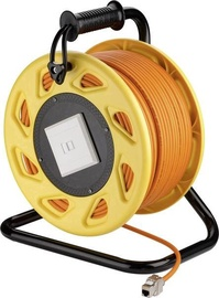 Goobay RJ45 Networks Cable Reel S/FTP 90m Orange