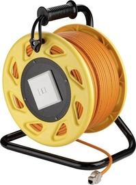 Goobay RJ45 Networks Cable Reel S/FTP 90m Orange