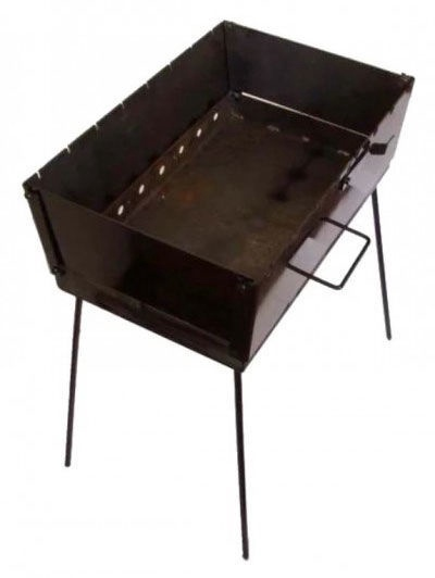 Shevlad Portable Folding Brazier for 8 Skewer