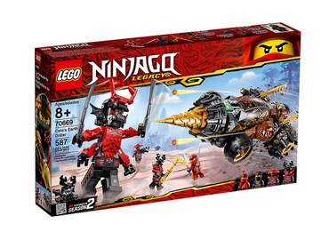 Konstruktor Lego Ninjago Cole's Earth Driller 70669