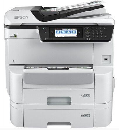 Многофункциональный принтер Epson WF-C8690DTWF, струйный, цветной