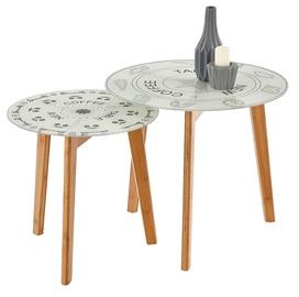Kafijas galdiņš Halmar Braga Multi, 500x500x450 mm