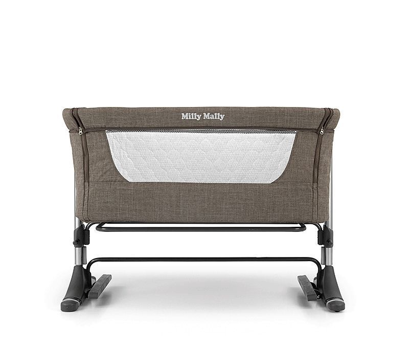 Vaikiška lova Milly Mally Side By Side Mint, 96x57 cm