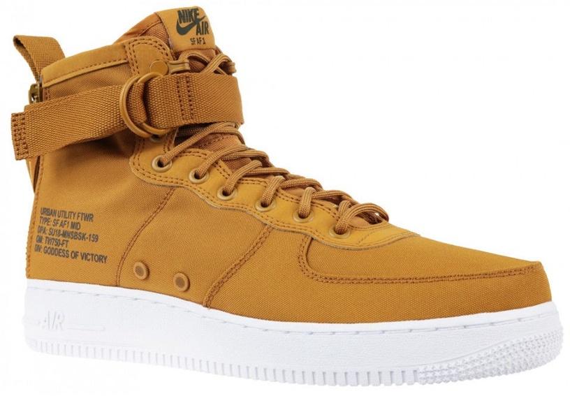 Nike Sneakers Air Force 1 SF Mid 917753-700 Brown 41
