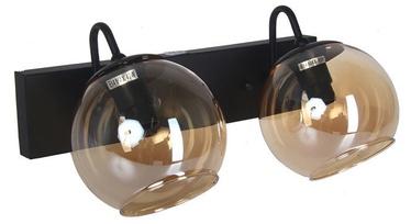 Verners Kurt Wall Lamp 2x40W E14 Black