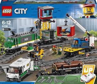 Конструктор LEGO City Товарный поезд 60198, 1226 шт.